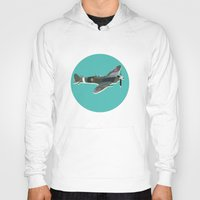 aviation Hoodies featuring A Brief History of Aviation by Simon Alenius