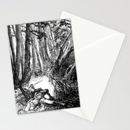 Murder in the Pines Stationery Cards