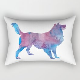 Border collie Rectangular Pillow