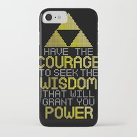 motivational iPhone & iPod Cases featuring Triforce Motivational by JesseThomas