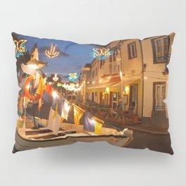 Decorated fishing boats Pillow Sham