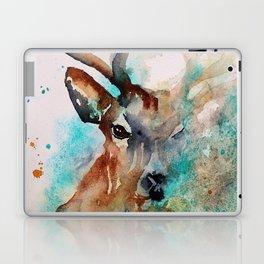 Abstract Deer Watercolor Laptop & iPad Skin