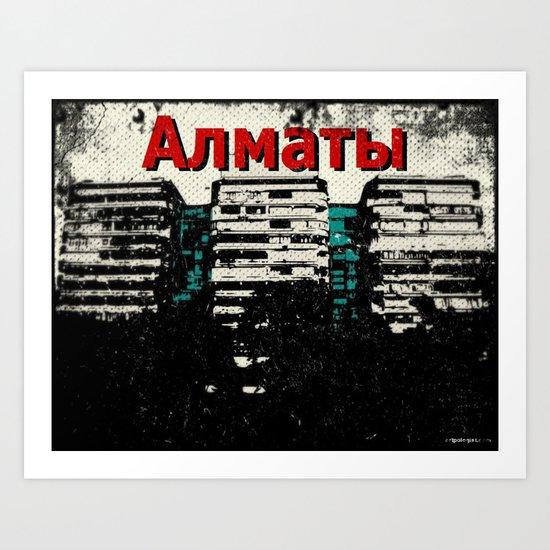 Almaty, Kazakhstan Art Print