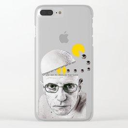 Foucault Clear iPhone Case