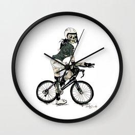 Biker Ghoul Wall Clock