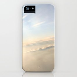 floating on the sky iPhone Case
