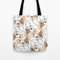 gizmo Tote Bags featuring gizmo by guizmo04