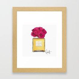 EAU DE PARFUM V.2 Framed Art Print