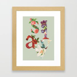 Slay Framed Art Print