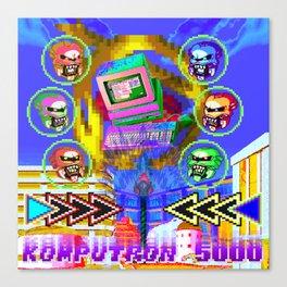 Komputron 5000 Canvas Print