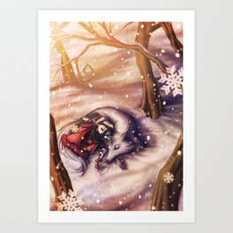 Winter Storm Art Print