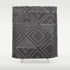 African Tribal Pattern No. 1 Shower Curtain