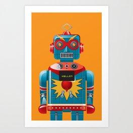 Hellobot 1 Art Print