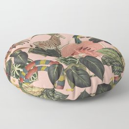 Pink Jungla Floor Pillow