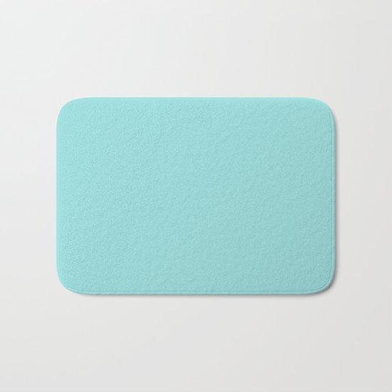 Aqua Shell (Blue) Color Bath Mat