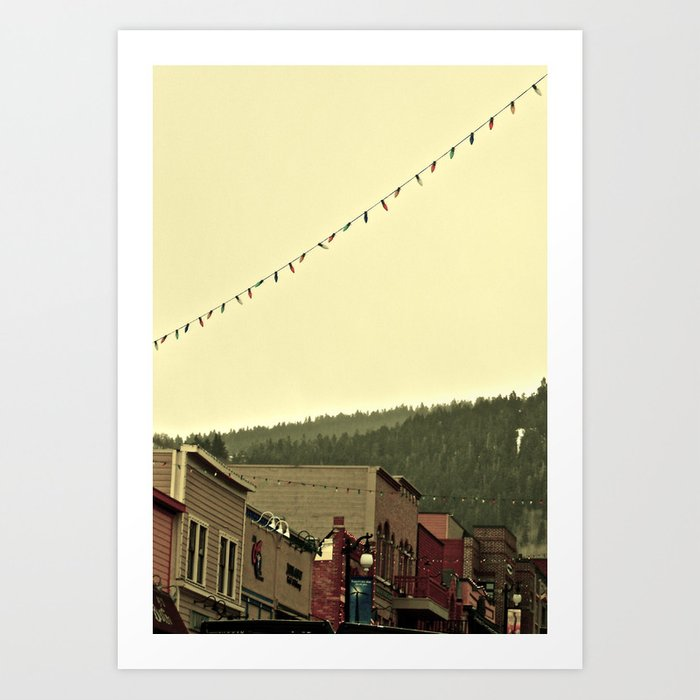 Stay for awhile Art Print