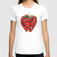 strawberry T-shirts featuring Strawberry by Picomodi