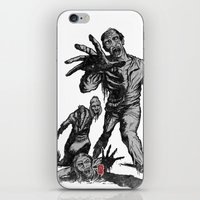 zombies iPhone & iPod Skins featuring Zombies by Christian G. Marra