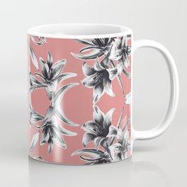 Lilium floral mirror Coffee Mug