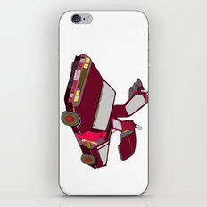 cool girls like flying cars iPhone & iPod Skin