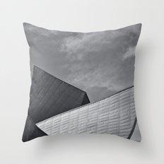 Denver Museum of Art Throw Pillow