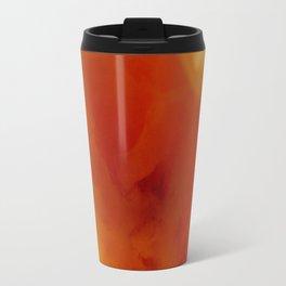 Textures (Orange version) Travel Mug