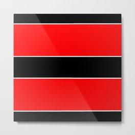 Horizontal stripes 7 Metal Print