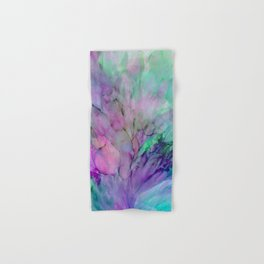 ALCOHOL INK Cvb Hand & Bath Towel