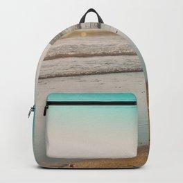 Golden Beach Days Backpack