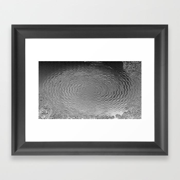 Vibrating Ripples Framed Art Print by Jonio FRM8527081