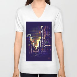 Berlin Art Unisex V-Neck