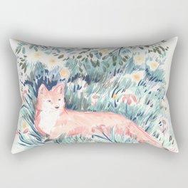 Fox in the Meadow Rectangular Pillow