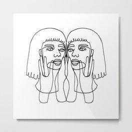 JADA Metal Print