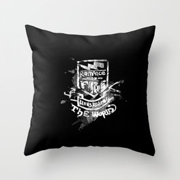 Romance May Fade Throw Pillow