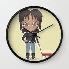 Oprah's Wagon of Fat Wall Clock