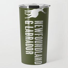 Deer: Newfoundland & Labrador, Canada Travel Mug