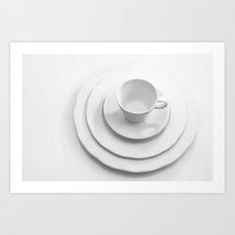 Tableware Art Print
