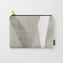 Desert Shadow   Abstract in Neutrals Carry-All Pouch