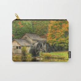 A Mabry Mill Autumn Carry-All Pouch