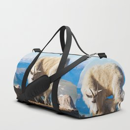 Mountain Goats Nanny And Kid Duffle Bag