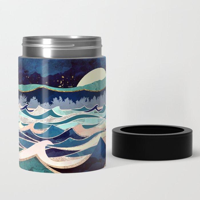 Moonlit Ocean Can Cooler