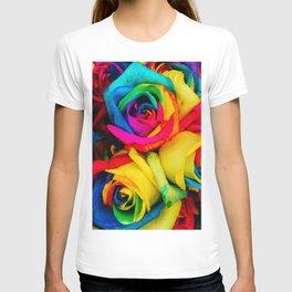 Rainbow Roses T-shirt