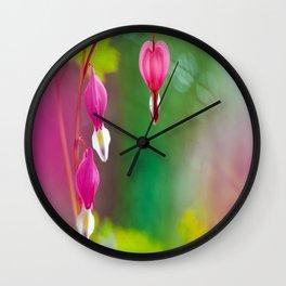 Ethereal Heart Wall Clock