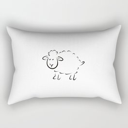 Sheep Rectangular Pillow