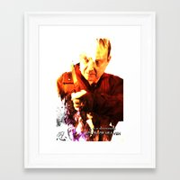 movie posters Framed Art Prints featuring South of Heaven Movie posters by Outlaw Features, Ltd