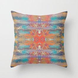 Jungle Edit Mirrored Throw Pillow