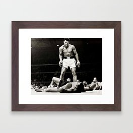 The Great Boxer Framed Art Print