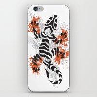 lizard iPhone & iPod Skins featuring Lizard by Sitchko Igor