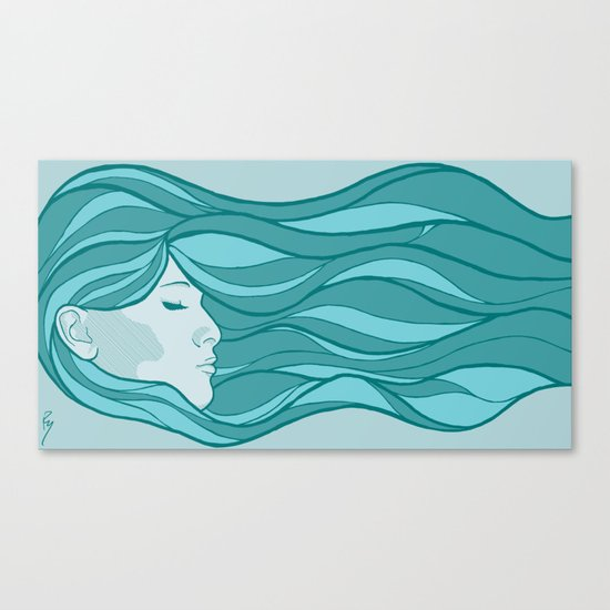 Deep Under Water Canvas Print
