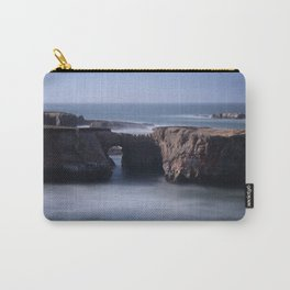 Keyhole Rock Arches Point Arena California Carry-All Pouch